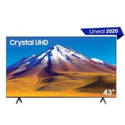 TELEVISION LED SAMSUNG 43 SMART TV SERIE TU6900, UHD 4K 3,840 X 2,160, 2 HDMI, 1 USB