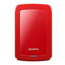DD EXTERNO 1TB ADATA HV300 DASHDRIVE SLIM 2.5 USB 3.1 ROJO WINDOWS/MAC/LINUX