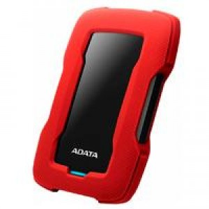 DD EXTERNO 2TB ADATA HD330 2.5 USB 3.1 SLIM CONTRAGOLPES ROJO WINDOWS/MAC/LINUX