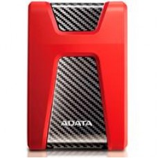 DD EXTERNO 1TB ADATA HD650 2.5 USB 3.1 CONTRAGOLPES ROJO WINDOWS/MAC/LINUX