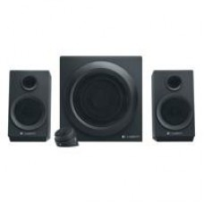 BOCINAS LOGITECH Z333 NEGRAS 2.1 40 WATTS RMS PC/MAC/MP3/IPOD/DVD