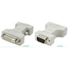 ADAPTADOR DVI-I A VGA MANHATTAN HD15 HEMBRA-MACHO