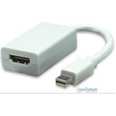 ADAPTADOR MANHATTAN MINI DISPLAYPORT A HDMI 1080P M-H