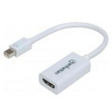 CABLE ADAPTADOR MANHATTAN MINI DISPLAYPORT A HDMI 1080P M-H