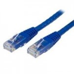 CABLE DE RED 91CM CATEGORÍA CAT6 UTP RJ45 GIGABIT ETHERNET CERTIFICADO ETL-PATCH MOLDEADO-AZUL-C6PATCH3BL