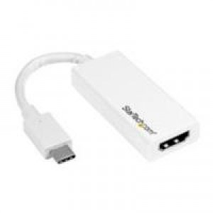 ADAPTADOR DE VIDEO USB-C A HDMI-CONVERTIDOR USB 3.1 TYPE-C A HDMI-BLANCO-TARJETA DE VIDEO EXTERNA HDMI-CDP2HDW